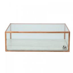 Display box showcase flat marble - &Klevering
