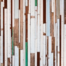 Keukenbehang - Reclaimed Wood