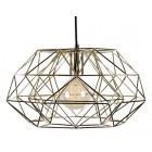 Lamp - Filament - Diamond #7 - Goudkleurig/zwart
