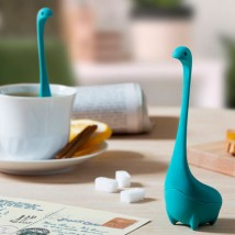 Baby Nessie thee infuser - turquoise