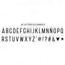 Lightbox Letter set - Basic Letters
