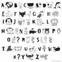 Lightbox Letter set - Kids ABC Illustration pack