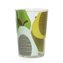 Orla Kiely Beker - Giant Pear - peppermint