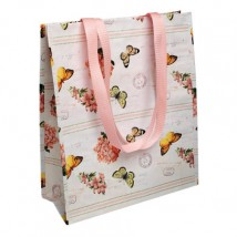 Shoppingtas - Botanical Butterflies