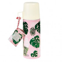Thermos - Tropical palm leaves